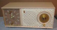 Vintage ZENITH J514 L J514L AM/Clock/Alarm Tube Radio J0727
