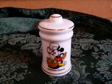 Vintage Japan Walt Disney Mickie Mouse Salt and Pepper shakers Chef Mickey 2 3/4