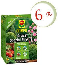 Sparset: 6 x COMPO Ortiva® Spezial Pilz-frei, 20 ml