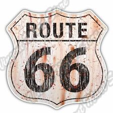 "Historic U.S. Route 66 Highway Road Car Bumper Window Vinyl Sticker Decal 4""X5"""