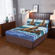 New High Quality Custom Horse Duvet Cover Sets Pillowcase 3-Pieces Bedding Set