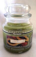 Yankee Candle Exotic Papaya Black Band  14.5 Oz Green Fruit Retired Lightly Used