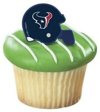 12 Houston Texans Football Helmet Cupcake Party Ring NFL Party Sports Jerse