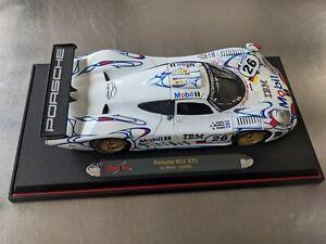 Porsche 911 GT1 1998 Le Mans Winner McNish Die Cast / Maisto 1:18 / NO RESERVE