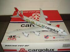 "JC Wings 200 Cargolux B747-8F ""City of Redange-sur-Attert, Cutaway Livery"" 1:200"
