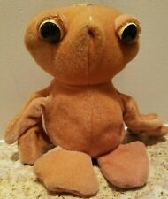 """E.T. Extra Terrestrial 8"""" Plush Doll All American Toy Co. Made in the USA"""