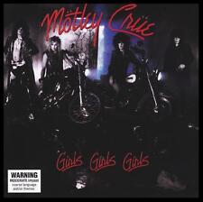MOTLEY CRUE - GIRLS GIRLS GIRLS D/Remaster CD w/BONUS Trx ~ 80's TOMMY LEE *NEW*