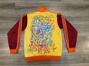 Ed Hardy Track Tiger Jacket By Christian Audigier XL