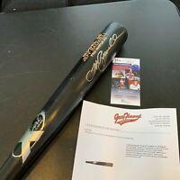 Jeff Bagwell Signed Game Issued Baseball Bat With JSA COA