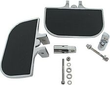 """CHROME MINI FLOORBOARDS FOOTBOARDS  HARLEY FRONT OR REAR FOOT BOARDS 8' X 4.25"""""""