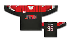Team Japan 2018 Dark Ice Hockey Jersey Custom Name and Number