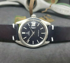 VINTAGE ROLEX TUDOR OYSTERDATE SMALL ROSE BLACK DIAL MANUAL WIND MAN'S WATCH
