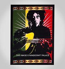 Bob Marley banner Throw cloth wall art hanging rasta legend music One Love New