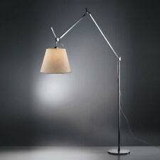Lampada Tolomeo Mega Terra Alluminio OnOff halo Pergamena 42, firmata Artemide