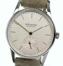 NOMOS Orion Silver Dial Hand Winding Boy's Watch_566132