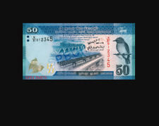 SriLankan Rs 50 Currency Note Paper Money Ceylon