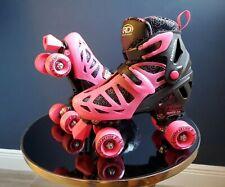 Roller Derby Inline Skates Quad Roller Combo Girls Size 3-6 Adjustable New