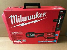 Milwaukee 2679 22 M18 Force Logic 600 Mcm Crimper Kit With 2 Batteries Amp Charger