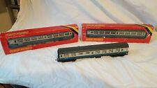 Hornby MK2 Coaches x2 and MK1 Buffet joblot