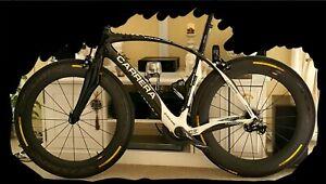 Carrera phibra frame custom carbon size m (cervelo, trek, specialized, ...)