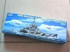 Trumpeter 1/700 #05764 HMS Battle Cruiser Renown 1942