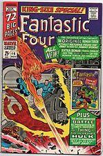 FANTASTIC FOUR  ANNUAL #4   HULK & HUMAN TORCH COVER