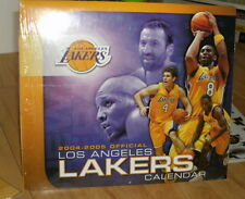 LA LAKERS COLLECTIBLE 12004-2005 WALL CALENDAR BNISW - DAY U PAY IT SHIPS FREE