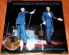 Sandler & Young Live   1976   PIP 2801  2 Vinyl LPs   Gatefold   Sealed