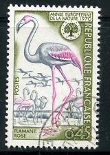 STAMP / TIMBRE FRANCE OBLITERE N° 1634 / FAUNE / FLAMANT ROSE