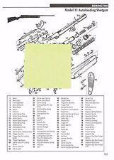 REMINGTON MODEL 11, 11-48 AUTOLOADING SHOTGUN Exploded View/Parts List 2011 Ad