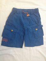 Pantaloni corti - colore blu - taglia non scritta - lunghi 33 cm - vita 22 -
