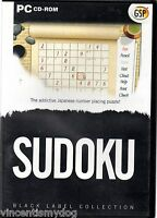 Sudoku - Black Label Collection (PC CD-Rom)