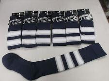 TCKSports Pro Builder Baseball Socks Navy/Grey/White