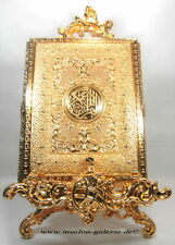 Edle Koran Quran Truhe Metal Gold *Allah Islam Muslim Kaftan Takschita Hijab*