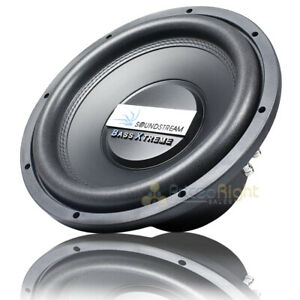 """Soundstream 12"""" Subwoofer Bass Xtreme Series 2400W Max Power Dual 4 Ohm BXW-124"""