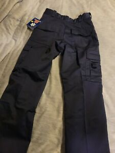 Rothco Women's Size 6 Navy Blue Tactical EMT Cargo Uniform Pants NWT .. (56)