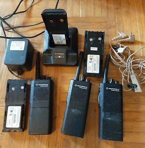 Lot de 3 Radios Motorola GP300 GP-300 GP340  UHF  et PMR 446 MHz avec chargeur