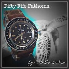 "Seiko 5 Automatic Diver Sports Watch SNZH FFF Fifty Five Fathoms SuperMod ""B"""