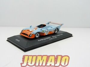 24H94 voiture 1/43 IXO 24 Heures Le Mans :GULF MIRAGE GB8 #11 Winner 1975