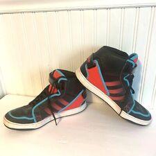 109e42036322 Adidas 11 Dark Pink Blue Hightop Black Sneaker Basketball Shoes Wrap Strap  Athle