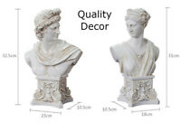 Roman Greek God Statue David Bust Apollo Anna Figurine Home Decorations Ornament