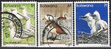 Botswana. 1982. Birds. 5f, 6f & 7f. Used. Gull/Goose/Egret.