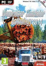 Woodcutter Simulator Anthology 2014 (PC DVD) BRAND NEW SEALED