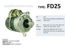 Mercruiser/ PCM/ Volvo starter motor suit various Ford V8 from 1971 on