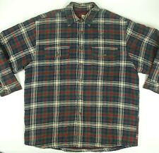 Abercrombie & Fitch Durable Goods Mens Plaid Quilted Lining Flannel L