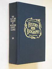 Woodford  Illinois IL 1878 rep  history genealogy ElPaso Congerville Eureka