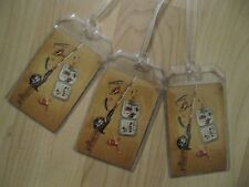 Vintage Fishing Pole Lures Luggage Tags - Vintage Repurposed Playing Cards (3)