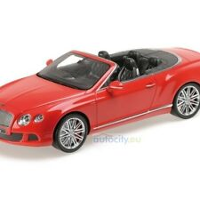 MINICHAMPS BENTLEY CONTINENTAL GT SPEED CONVERTIBLE RED / FIRST CLASS  107139330