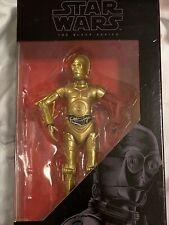 "Star Wars Black Series C-3PO (Red Arm) Resistance Base 29 6""  Shelf Wear"