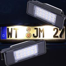 NEU 3200K WARMWEISS helle LED SMD Kennzeichenbeleuchtung Nummernschild 7603WW